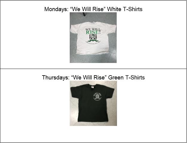 Monday Tuesday shirts