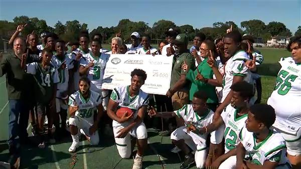 New York Jets to donate $25,000 to Wyandanch HS football team
