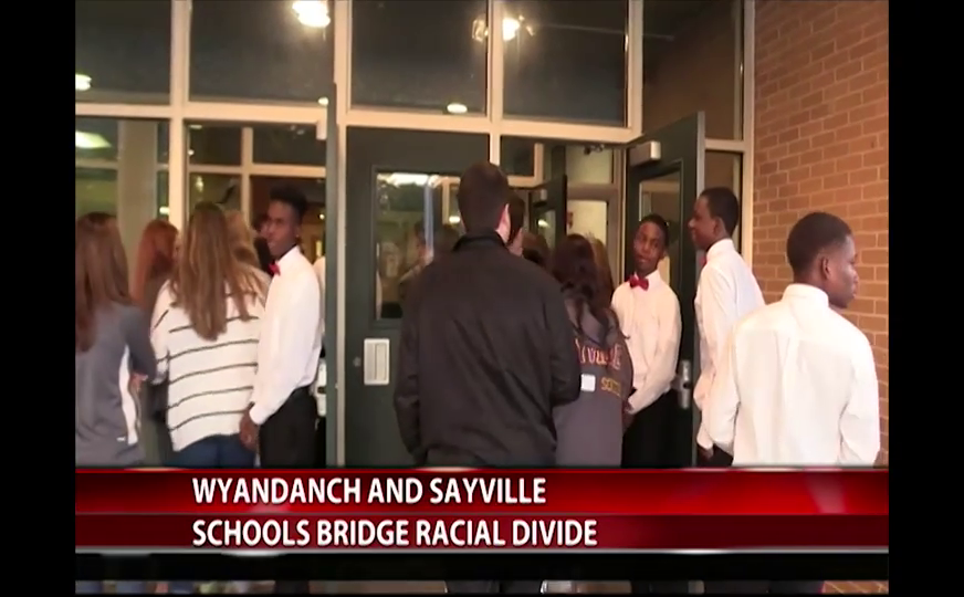 Students from Wyandanch, Sayville schools come together to bridge racial divide